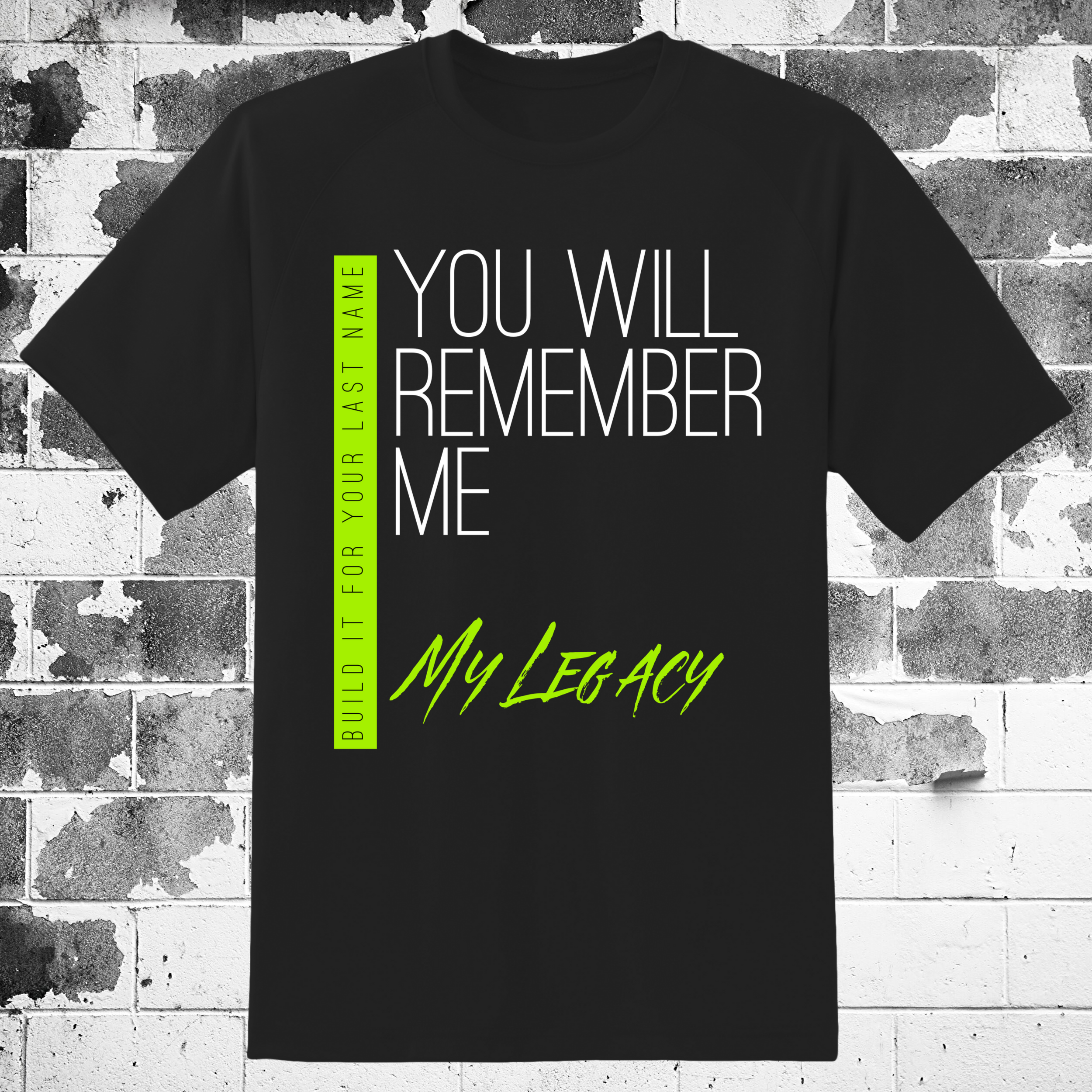 REMEMBER ME TSHIRT